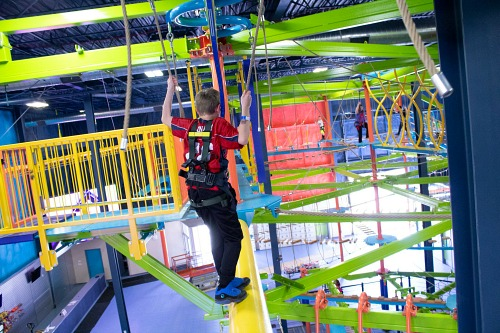 Outdoor Zip Line Open Seasonally And The Year Round Indoor Adventure Center With Ropes Courses Climb Walls Plenty Of Vertically Challenging Fun
