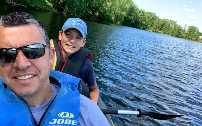 Kalamazoo Kayak with Kids