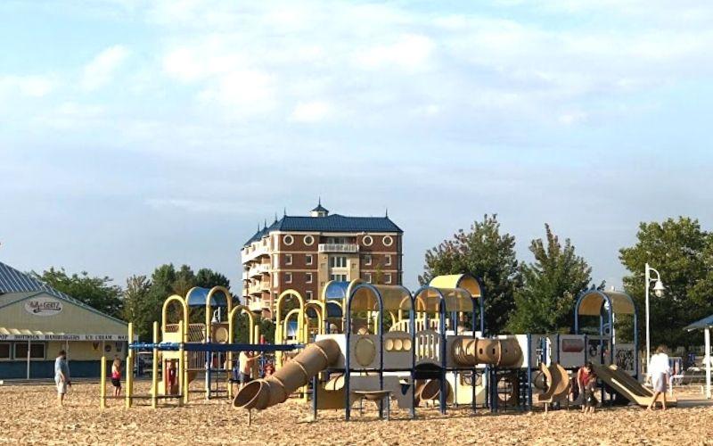 silver beach playground st joseph michigan